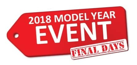 2018 Model Year Event - Final Days