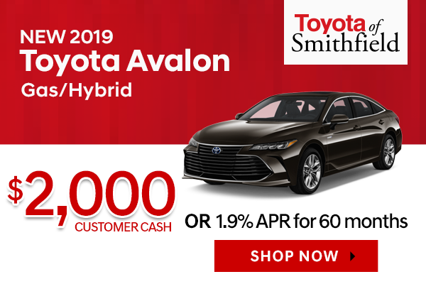 New 2019 Toyota Avalon/Avalon Hybrid