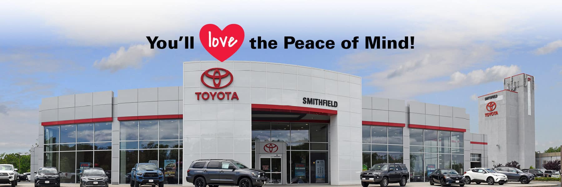 You'll Love the Peace of Mind at Toyota of Smithfield!