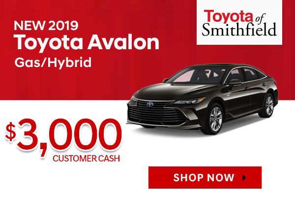 New 2019 Toyota Avalon/Avalon Hybrid