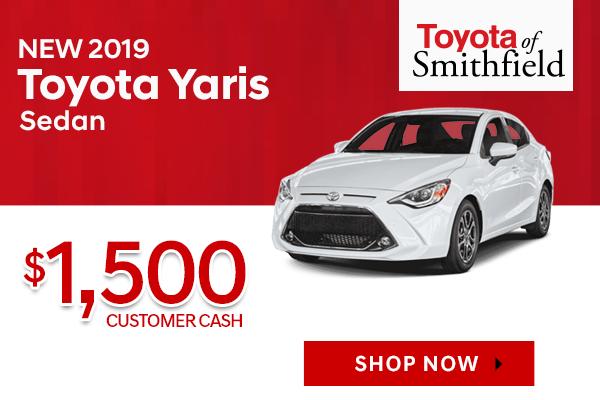 New 2019 Toyota Yaris Sedan