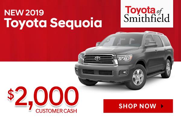 New 2019 Toyota Sequoia
