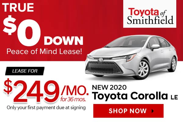 Toyota Lease Deals >> Toyota Of Smithfield New Vehicle Specials Toyota Of Smithfield