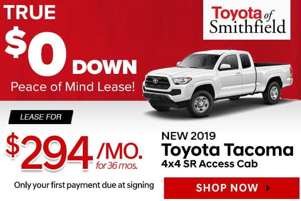 New 2019 Toyota Tacoma 4x4 SR Access Cab