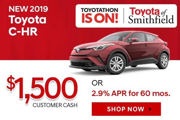 New 2019 Toyota C-HR