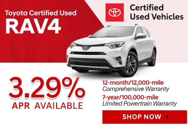 Toyota Certified Used RAV4