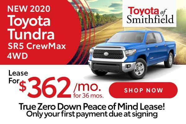 New 2020 Toyota Tundra SR5 CrewMax 4WD