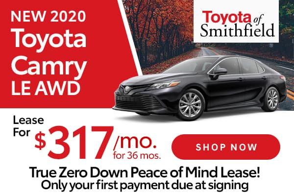 New 2020 Toyota Camry LE AWD