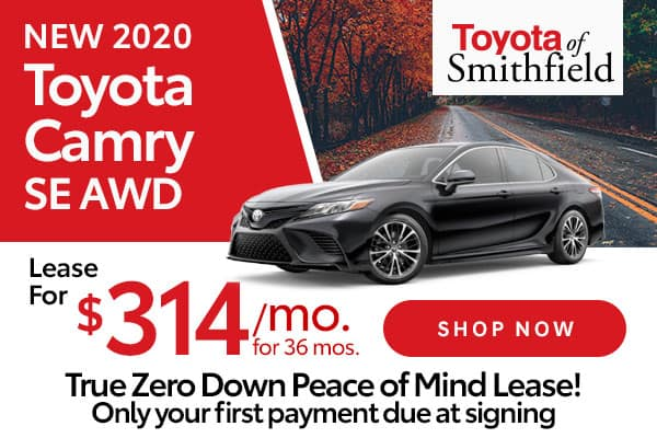 New 2020 Toyota Camry SE AWD