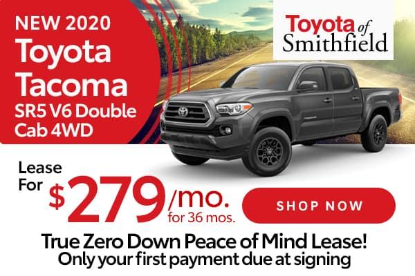 New 2020 Toyota Tacoma SR5 V6 Double Cab 4WD