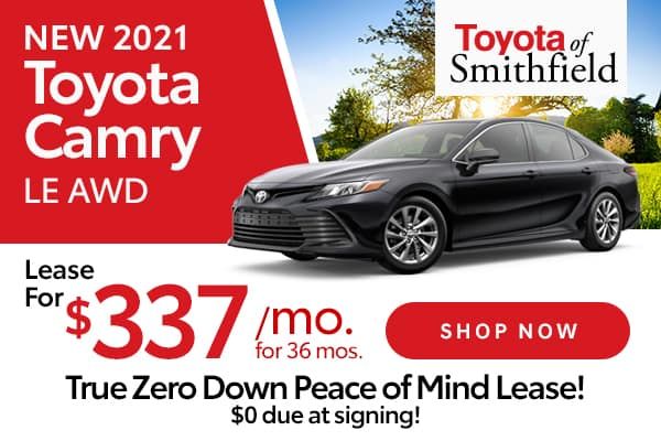 New 2021 Toyota Camry LE AWD