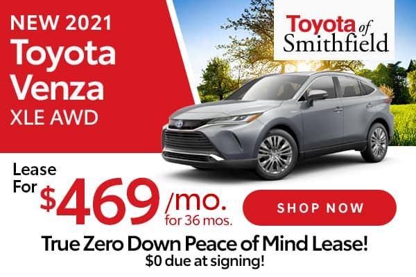 New 2021 Toyota Venza XLE AWD