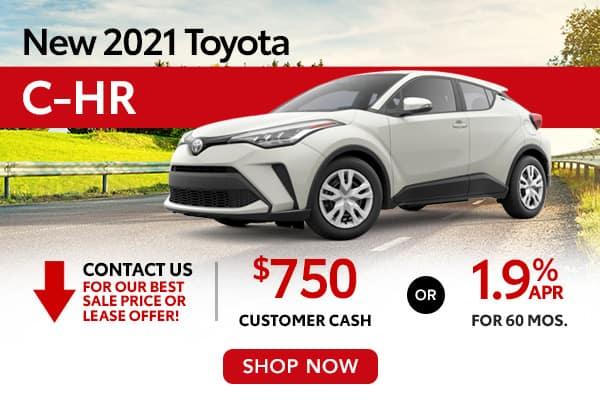 New 2021 Toyota C-HR