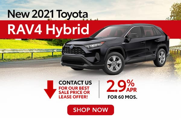 New 2021 Toyota RAV4 Hybrid