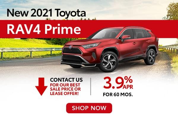 New 2021 Toyota RAV4 Prime