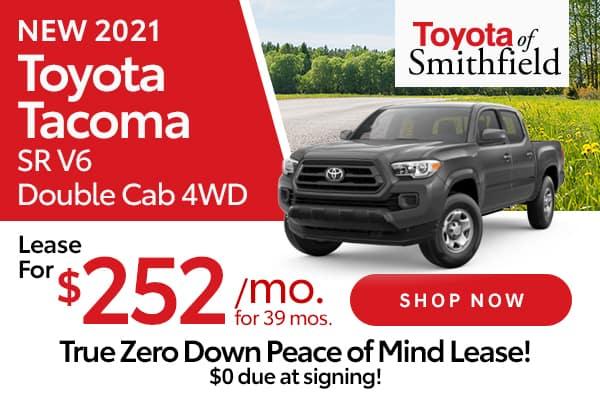 New 2021 Toyota Tacoma SR V6 Double Cab 4WD