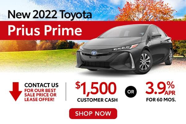 New 2022 Toyota Prius Prime
