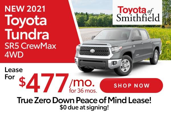 New 2021 Toyota Tundra SR5 CrewMax 4WD
