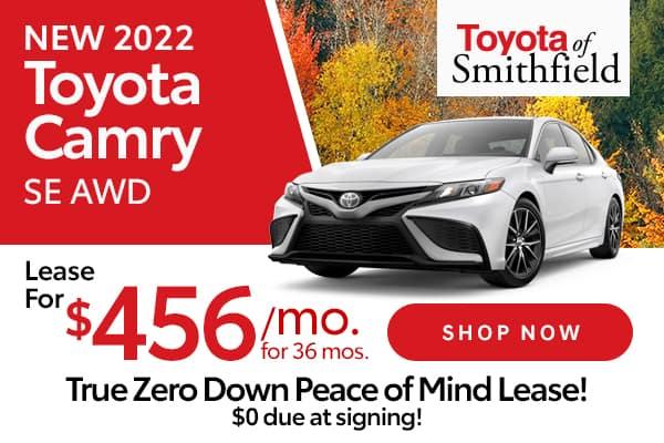 New 2022 Toyota Camry SE AWD