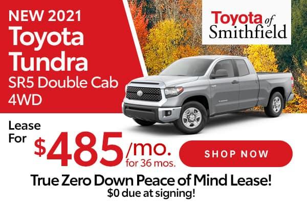 New 2021 Toyota Tundra SR5 Double Cab 4WD