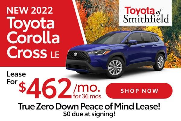 New 2022 Toyota Corolla Cross LE AWD