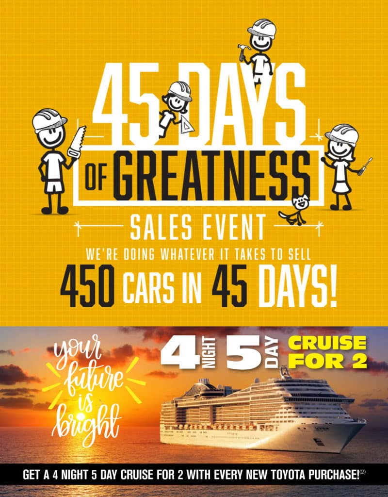 45 Days of Greatness