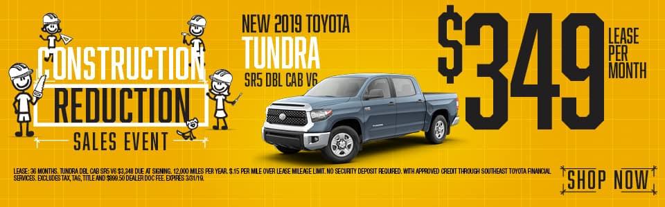 New 2019 Tundra