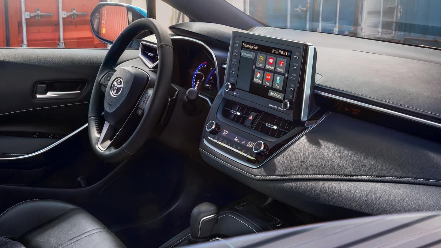 2019 Toyota Corolla Hatchback interior features