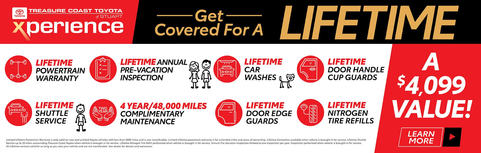 Get covered for a Lifetime