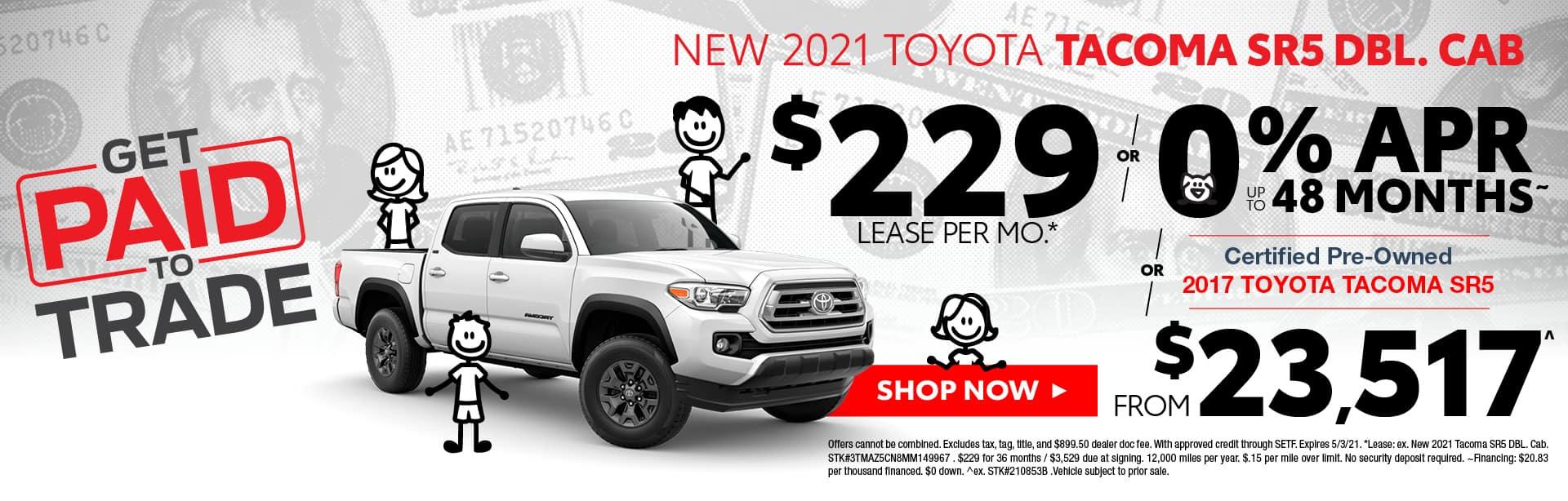 New Toyota Tacoma