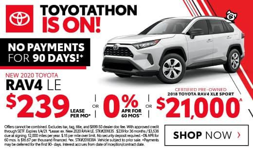New 2020 Toyota RAV4