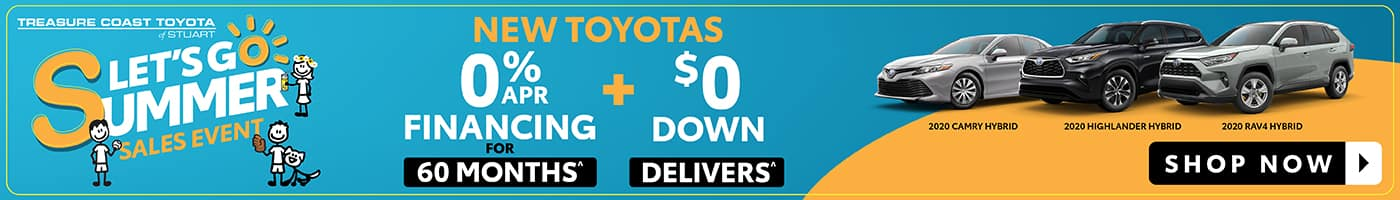 New Toyotas 0% APR