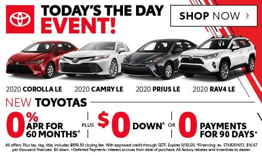 New Toyota Vehicles