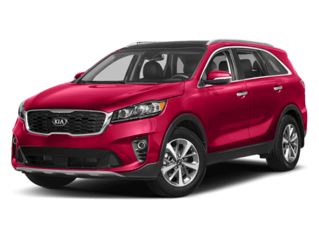 2019 Kia Sorento red SUV