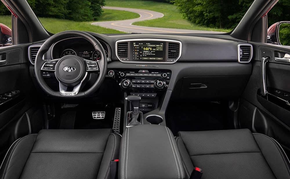 2020 Kia Sportage Dash