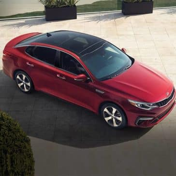 2020 Kia Optima Parked