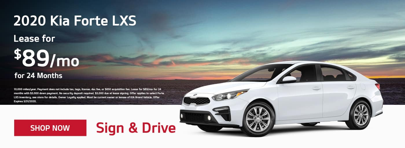 2020 Kia Forte May Offer