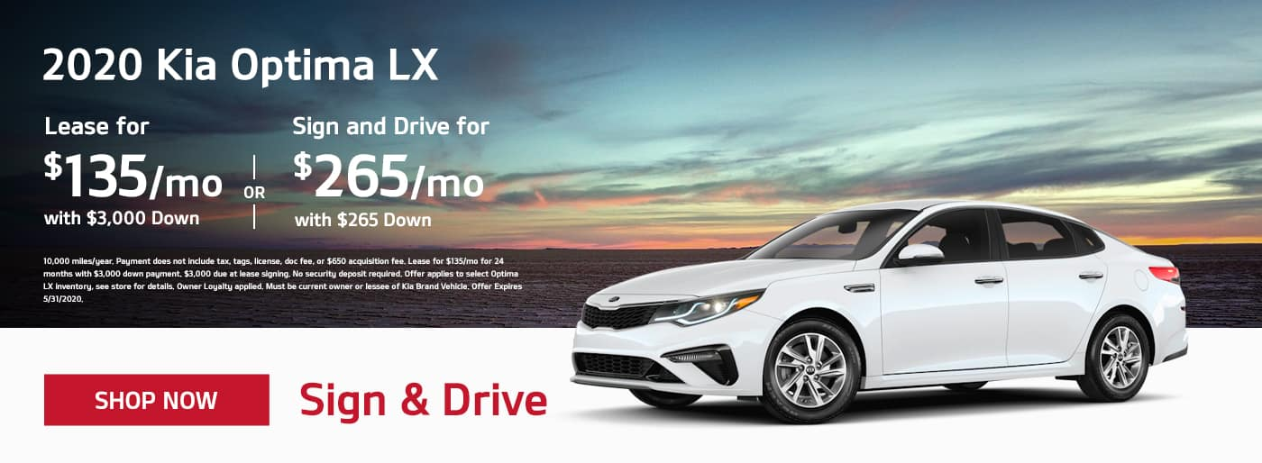 May 2020 Optima Offer