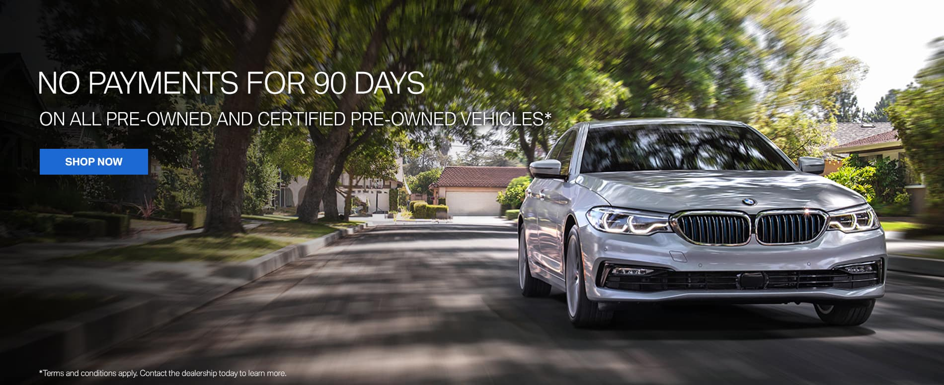Tulley BMW Manchester 90 Days to Payment Offer