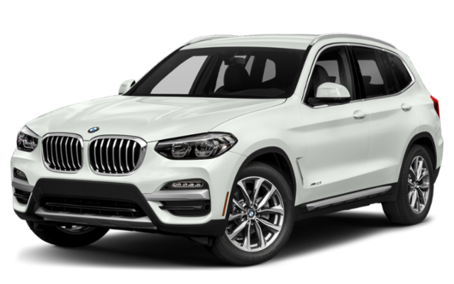 2019 BMW X3 in white
