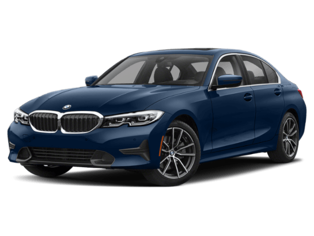 2020 BMW 3 Series 330i in blue
