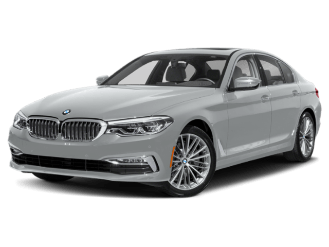 2020 BMW 5 Series 540i in white