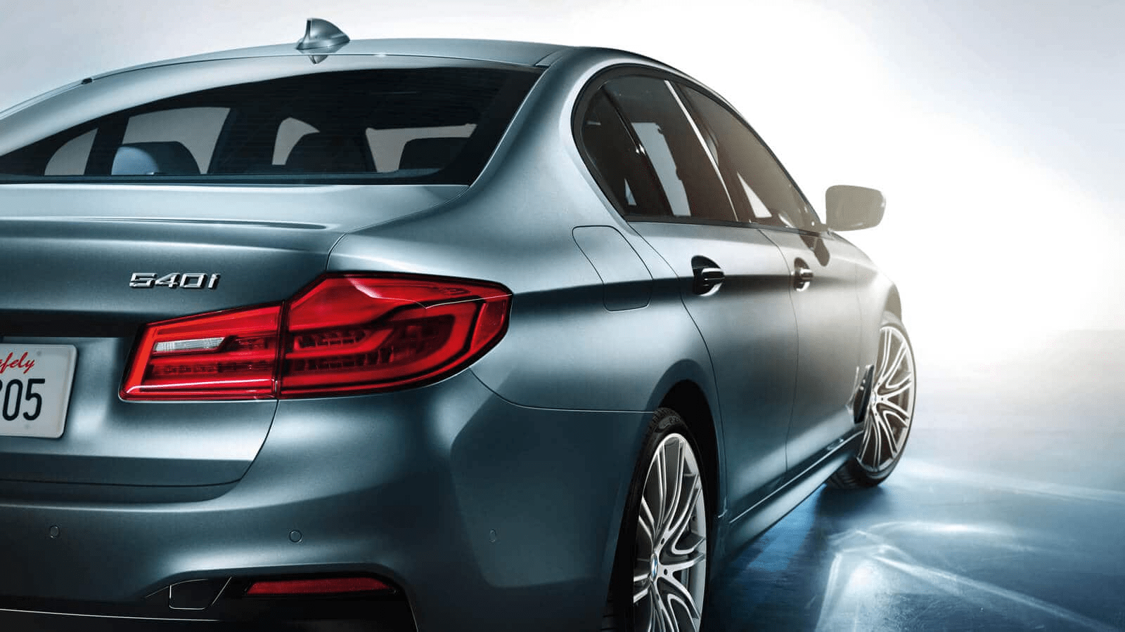 2020 BMW Series 5 rear profile exterior