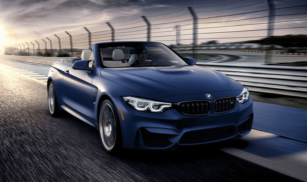 BMW M Model Convertible driving