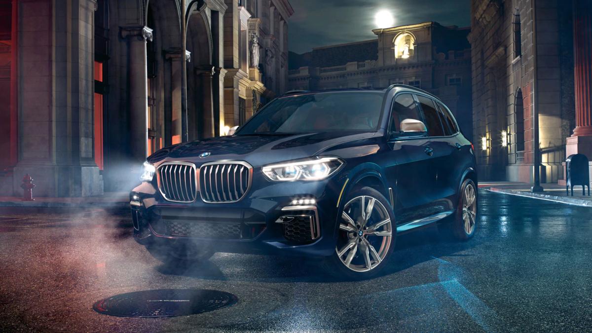 BMW X5 Exterior Blue