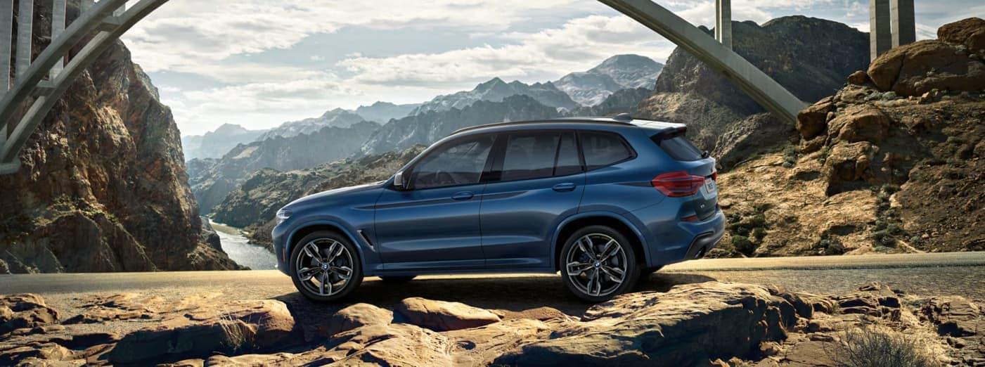 2020 BMW X3 parked