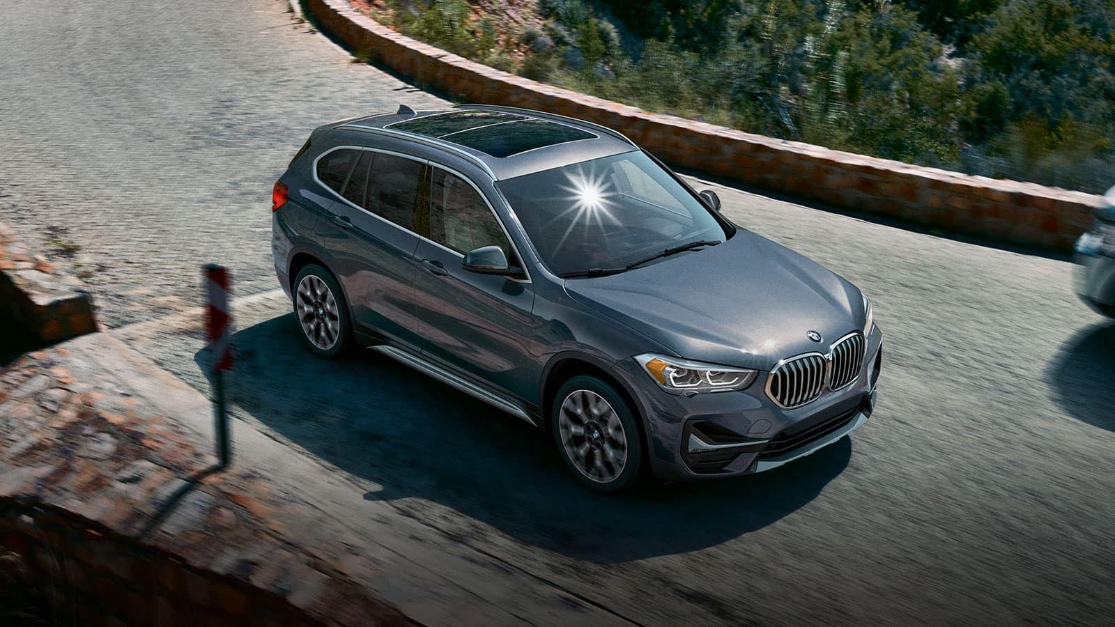 2020 BMW X1 driving