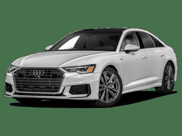 2020 Audi A6 in silver