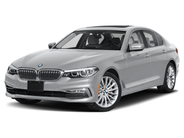 2020 BMW 5 Series in silver