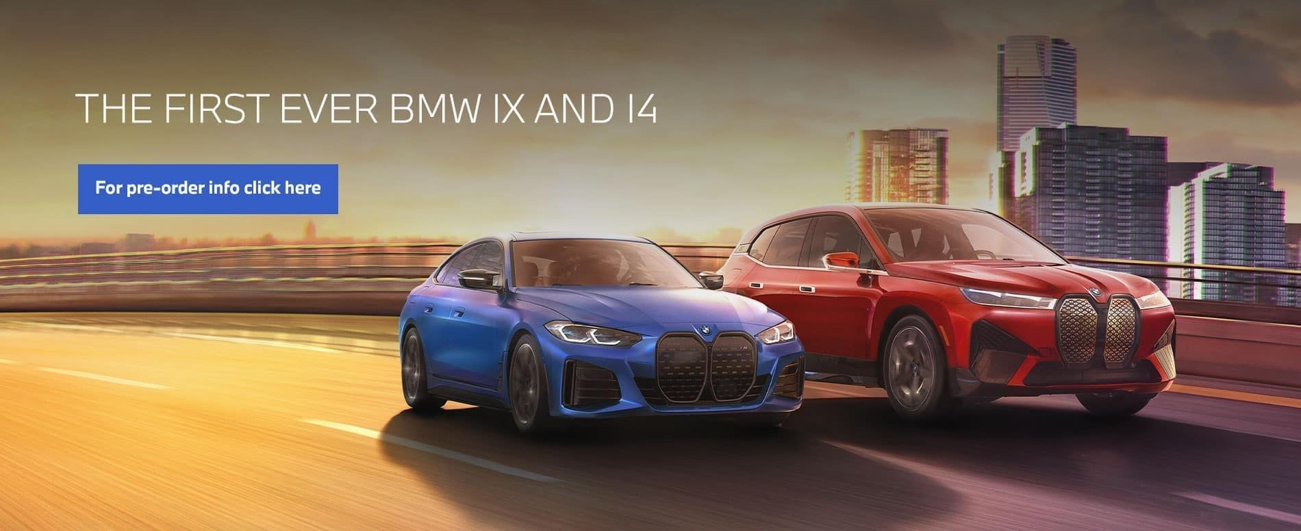 THE FIRST EVER BMW IX AND 14